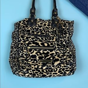 NWT Juicy Couture Leopard Soft Purse
